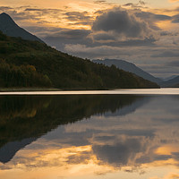 Buy canvas prints of Loch Leven Sunset by Keith Thorburn EFIAP