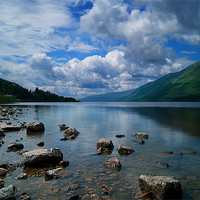 Buy canvas prints of Loch Ness by Keith Thorburn