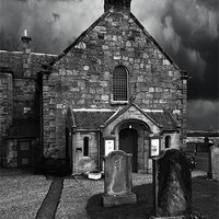 Buy canvas prints of Newton Parish Church by Keith Thorburn