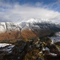Buy canvas prints of Ben Nevis and Glen Nevis. by John Cameron