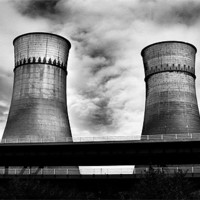 Buy canvas prints of Tinsley Towers by J Biggadike