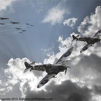 Buy canvas prints of Escort Sqdn by J Biggadike