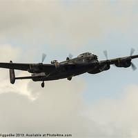Buy canvas prints of Lancaster Bomber by J Biggadike