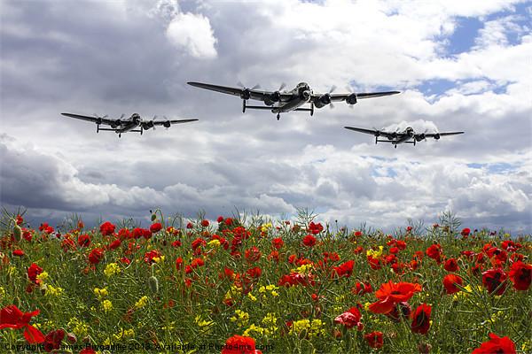 Lancaster Remembrance Canvas print by J Biggadike