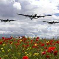 Buy canvas prints of Lancaster Remembrance by J Biggadike