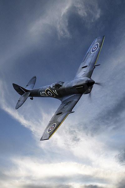 Spitfire Pass Canvas print by J Biggadike