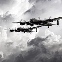 Buy canvas prints of Once in a Lanc Time by J Biggadike