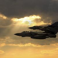 Buy canvas prints of Tornado Role Demo by J Biggadike