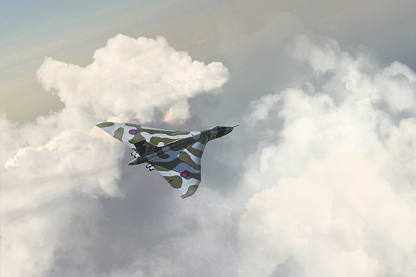 Vulcan Howl Canvas print by J Biggadike