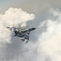 Buy canvas prints of Vulcan Howl by J Biggadike