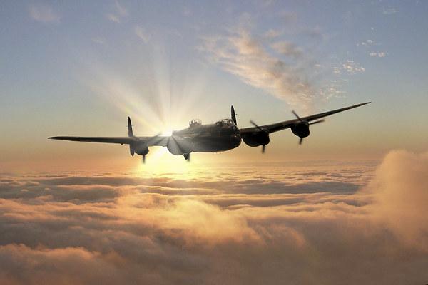 Avro Lancaster Bomber  Canvas print by J Biggadike