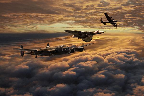 The Bomber Age  Print by J Biggadike
