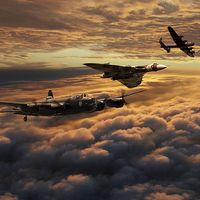 Buy canvas prints of The Bomber Age  by J Biggadike