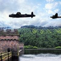 Buy canvas prints of  Derwent Bombers by J Biggadike