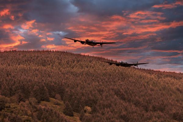 Sunset Over The Dam  Canvas print by J Biggadike