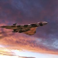 Buy canvas prints of Vulcan Glory  by J Biggadike