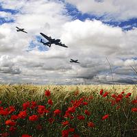 Buy canvas prints of Battle Of Britain Memorial Tribute  by J Biggadike