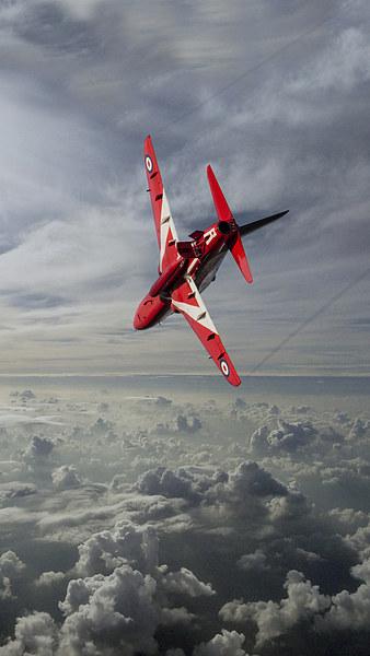 The Red Arrow  Print by J Biggadike