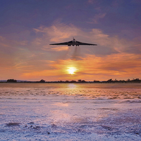 Buy canvas prints of The Vulcan Pass by J Biggadike