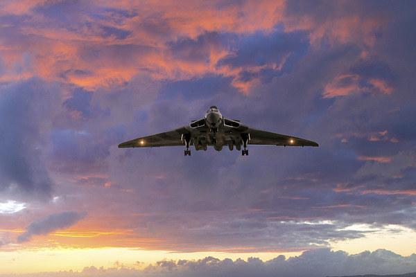 Vulcan Bomber Canvas Print by J Biggadike