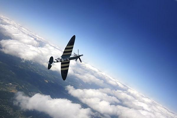 Spitfire Flight Canvas print by J Biggadike