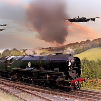 Buy canvas prints of Battle of Britain Class by J Biggadike
