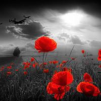 Buy canvas prints of Royal Air Force Tribute - Selective by J Biggadike