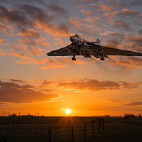 Buy canvas prints of XH558 Comes Home by J Biggadike