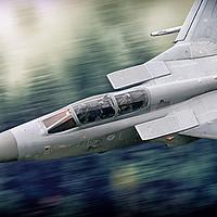 Buy canvas prints of Tornado F3 Inbound by J Biggadike