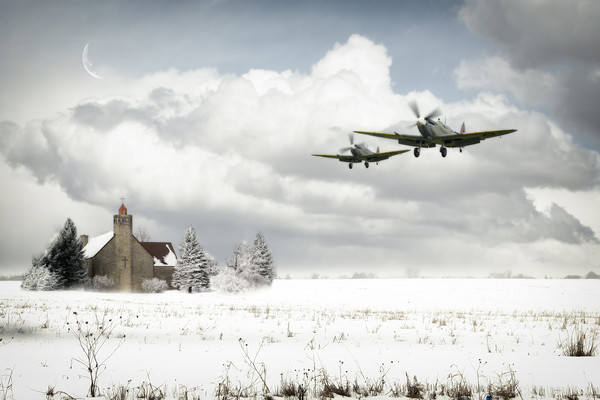 Spitfire Snow Patrol Canvas Print by J Biggadike