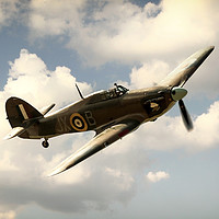 Buy canvas prints of Hurricane LF363 by J Biggadike