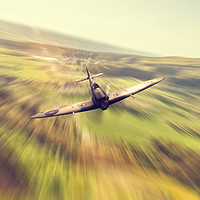 Buy canvas prints of Reign Of Spitfire by J Biggadike