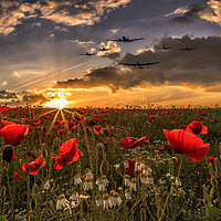 Buy canvas prints of The Final Fly Past by J Biggadike