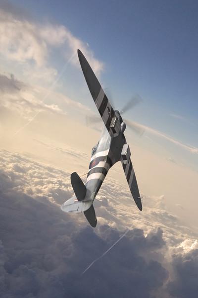 Spitfire PR Mk XIX PM631 Canvas print by J Biggadike