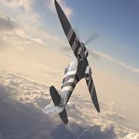 Buy canvas prints of Spitfire PR Mk XIX PM631 by J Biggadike