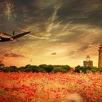 Buy canvas prints of At The Setting Of The Sun by J Biggadike