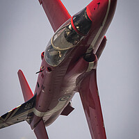 Buy canvas prints of Red Arrow by J Biggadike