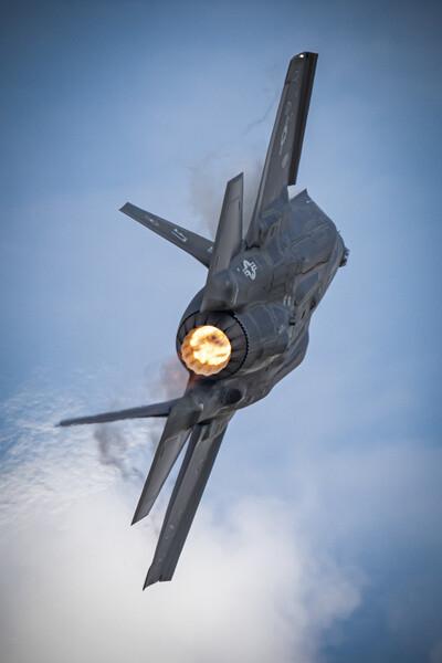 USAF F-35 Lightning II  Print by J Biggadike