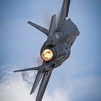 Buy canvas prints of USAF F-35 Lightning II  by J Biggadike