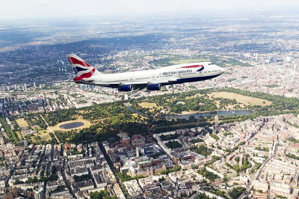 British Airways Boeing 747 Canvas Print by J Biggadike