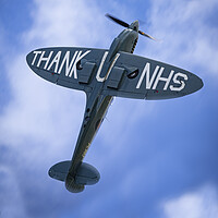 Buy canvas prints of NHS Spitfire by J Biggadike