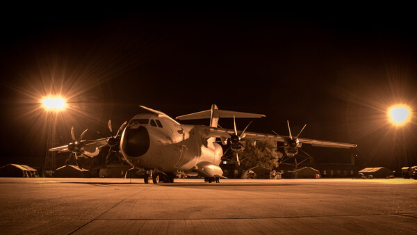 Airbus A400M Atlas Framed Print by J Biggadike
