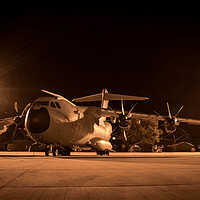 Buy canvas prints of Airbus A400M Atlas by J Biggadike
