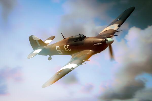 Hawker Hurricane Dream Framed Print by J Biggadike