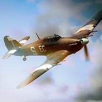 Buy canvas prints of Hawker Hurricane Dream by J Biggadike