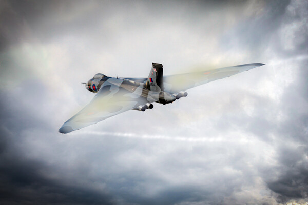 Avro Vulcan Bomber Canvas Print by J Biggadike