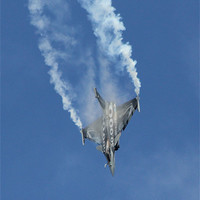 Buy canvas prints of The Dassault Rafale by J Biggadike