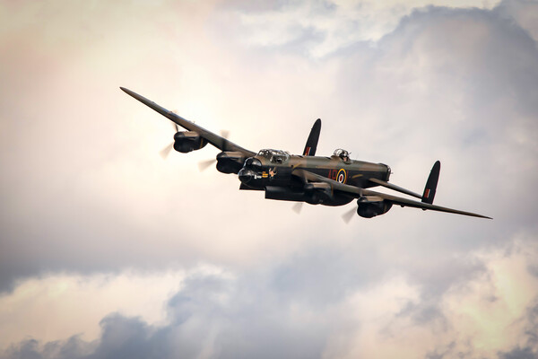 Lancaster Bomber Bomb Bay Framed Print by J Biggadike