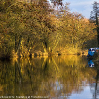 Buy canvas prints of Kennet and Avon Canal by Matthew Bates
