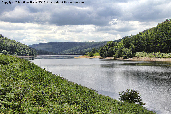 Derwent Reservoir Canvas print by Matthew Bates